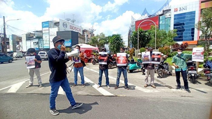 Peringati Hari Kebebasan Pers Sedunia, AJI Medan: Kekerasan Terhadap Jurnalis Harus Dihentikan