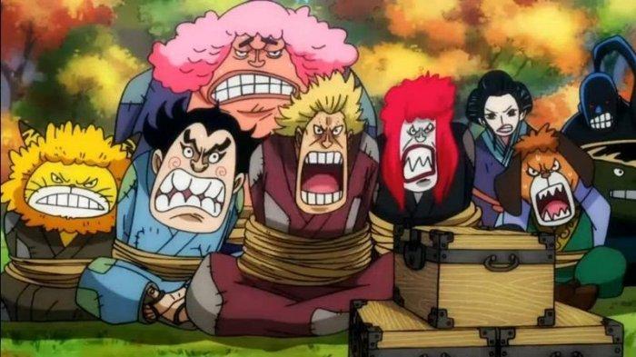 Spoiler Manga One Piece 1005, Munculnya Sosok Misterius Bersama Akazaya Nine, Ayah Roronoa Zoro?