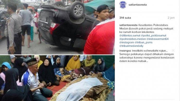 Kasatlantas Polrestabes Ikut Melayat ke Rumah Korban Kecelakaan - akbp-indra-warman-melayat-tribun_20170409_230314.jpg