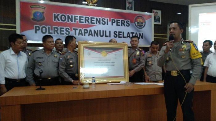 Polres Tapsel Tangani Tiga Perkara Korupsi Sepanjang 2018, Satu Kasus Sudah Masuk Ranah Pengadilan