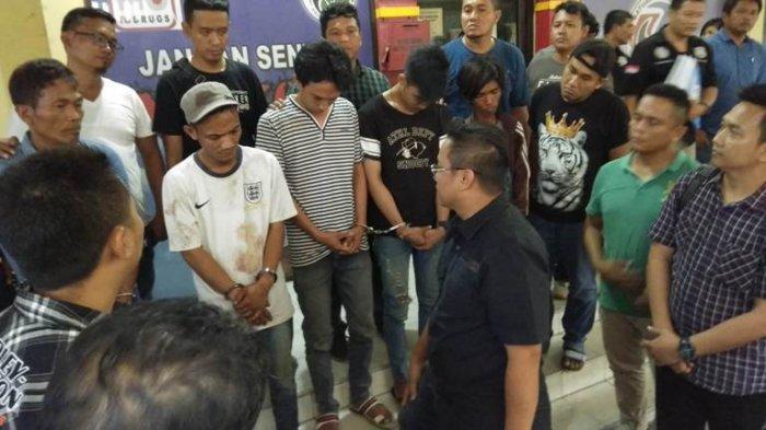 Lima Orang Disikat Polisi GKN di Jermal 15, Ini Barang Bukti yang Berhasil Diamankan
