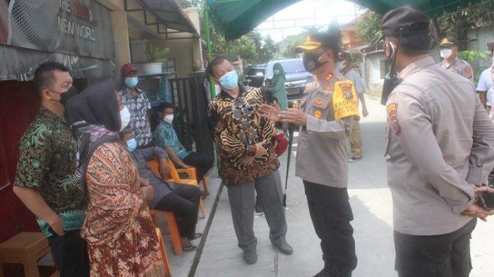 Sergai Terapkan PPKM Level 3, Pengantin di Sergai Terkejut Pestanya Didatangi Kapolres