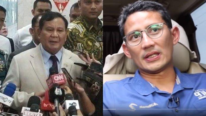 Reaksi Prabowo Setelah Jokowi Bilang Sandiaga Uno Kandidat Calon Presiden 2024, Bandingkan Anies