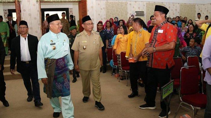 Hadiri Rapat Paripurna HUT ke-16 Kabupaten Sergai, Akhyar Harapkan Sinergi Kedua Pihak