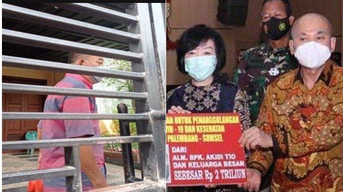 Anak Bungsu Akidi Tio Dijemput Polda Sumsel, Kapan Bantuan Rp 2 Triliun Cair?