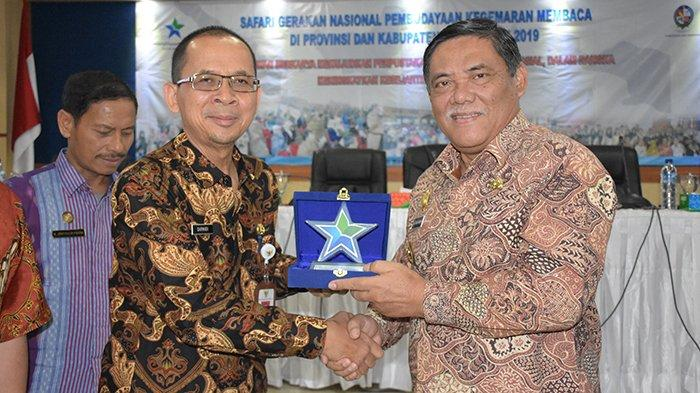 Wakil Bupati Deliserdang HM Ali Yusuf Siregar Buka Gerakan Nasional Gemar Membaca