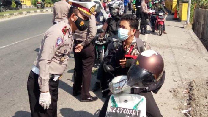 Pos Penyekatan PPKM Mikro di Simpang Jalan Megawati Binjai Diperpanjang
