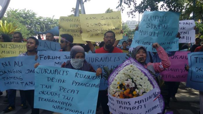 Danlanud Soewondo Diharapkan Bertanggung Jawab atas Arogansi Oknum TNI AU Penganiaya