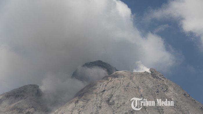Aktivitas Vulkanik Gunung Sinabung Meningkat, Seminggu Hampir 1.000 Kali Guguran