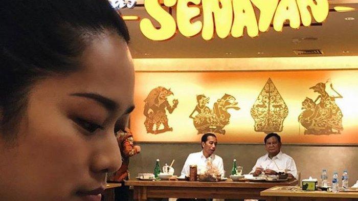 Jadi Saksi Acara Makan Siang Jokowi dan Prabowo, Prisia Nasution Ungkap Rasa Haru