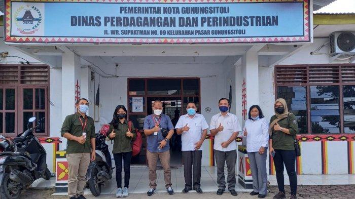 Alfamidi Sosialisasi Program UMKM di Disperindag Kota Gunungsitoli