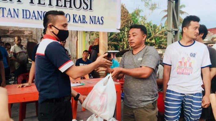 Alfamidi Beri Bantuan Kepada Korban Kebakaran di Kabupaten Nias