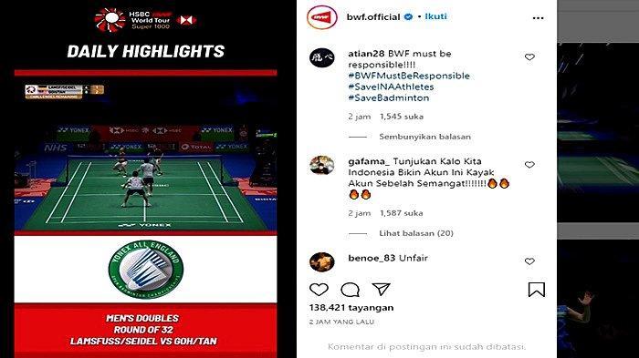 Indonesia Didepak dari All England, Netizen Langsung Amalkan Sila Ketiga Pancasila