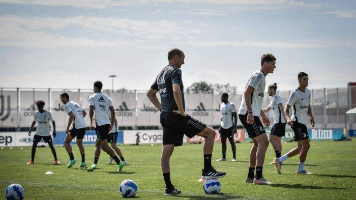 Skuat Juventus berlatih pramusim jelang Liga Italia, Allegri siapkan proyek sentral untuk Dybala