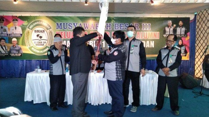 Mubes III KB Iluni SMAN 11 Medan, Alumni Diminta Bersinergi dengan Pemprov Sumut