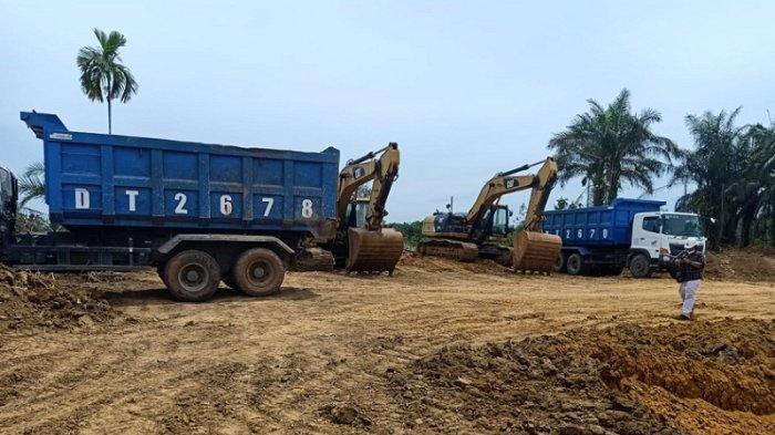 Pimpinan Proyek Tol Binjai-Langsa Bantah Kabar Hutama Karya Beli Tanah dari Tambang Ilegal