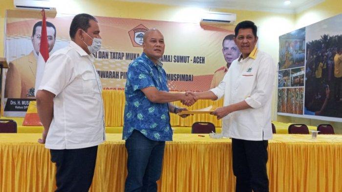Mundur Sebagai Ketua DPD Golkar Deliserdang, Amek Tak Ingin Ada Perpecahan