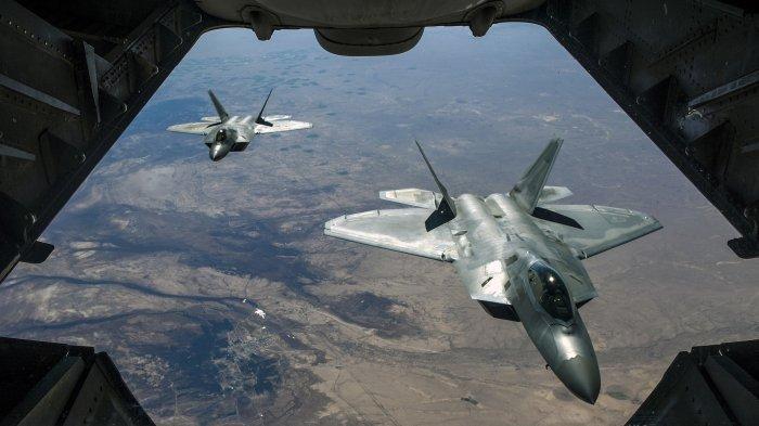 MEMANAS, Amerika Boyong 25 Jet Tempur Siluman Tercanggih ke Pasifik Tantang China