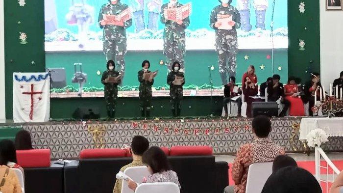 Terapkan Prokes, Anak  Band se-Kota Medan Rayakan Natal di Masa Pandemi Covid-19