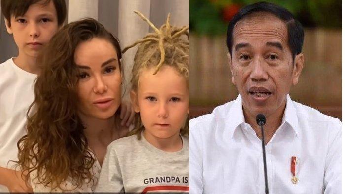 4 Bulan Mantan Suami Dipenjara, Penyanyi Rusia Ini Mohon Grasi ke Jokowi: Anak-anak Merindukannya