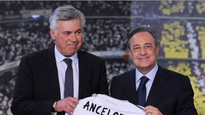 PRESIDEN Real Madrid Dikritik Tak Kompeten oleh Presiden UEFA, Ancelotti Justru Beri Pembelaan