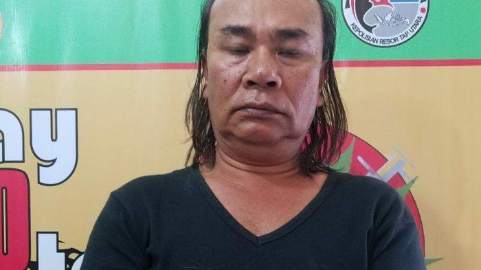 Dilaporkan Warga Sering Nyabu, Anggiat Diciduk Polres Taput