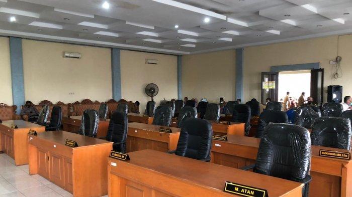 Rapat Paripurna Terakhir, tak Satupun Anggota DPRD Binjai Hadir