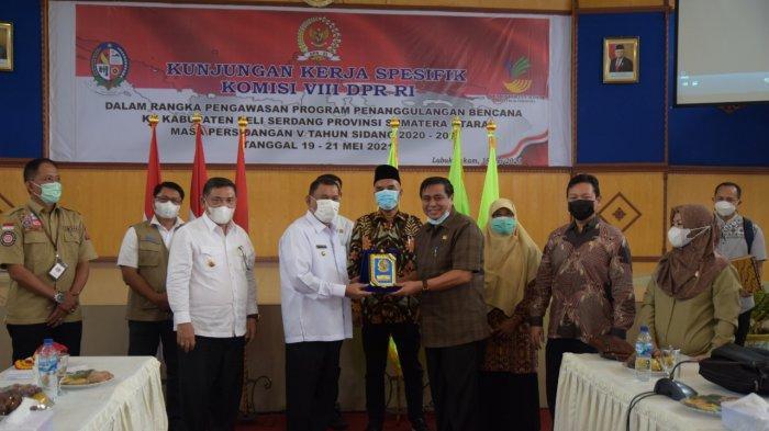 Kunker Spesifik DPR RI Komisi VIII Dalam Rangka Program Penanggulangan Bencana di Deli Serdang
