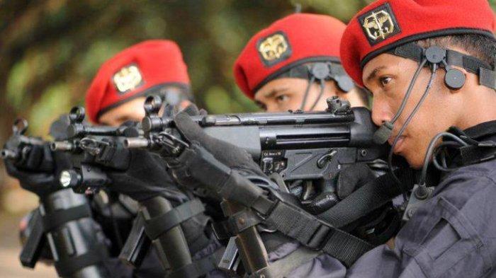 Anggota Kopassus TNI AD