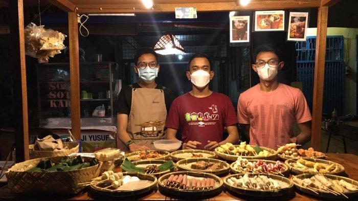 Bertajuk 'Titik Nol' Tiga Anak Muda Dirikan Angkringan di Medan, Sajikan Kopi Joss Khas Jogja