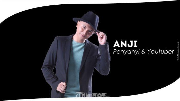 Anji. (Grafis Tribunwow/Kurnia Aji Setyawan)