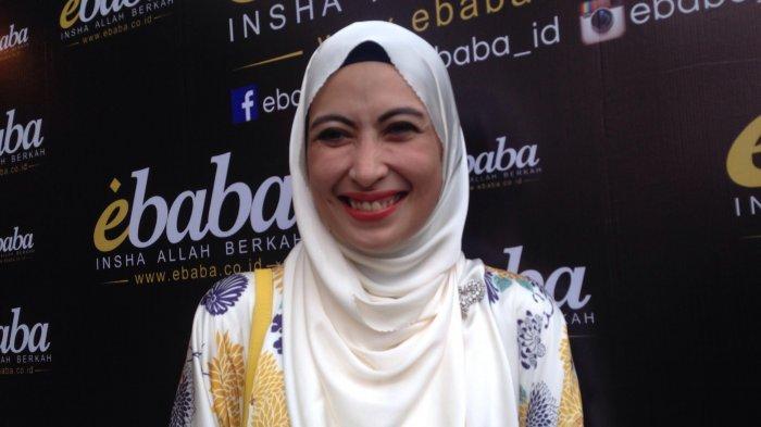 Annisa Trihapsari ditemui di kawasan Pondok Indah, Jakarta Selatan, Jumat (19/5/2017). (Tribunnews.com/Nurul Hanna)