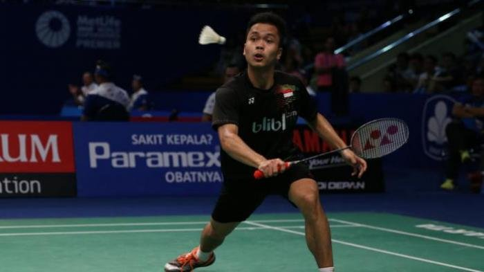 Link Nonton Gratis dari HP, Live Streaming Duel Anthony Ginting Vs Sourabh Verma Thailand Open 2021