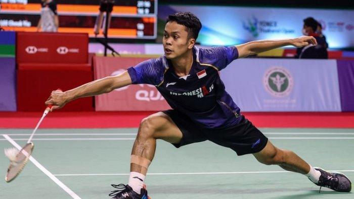 LIVE HARI INI Link Live Streaming Anthony Sinisuka Ginting vs Sourabh Verma| Thailand Open 2021