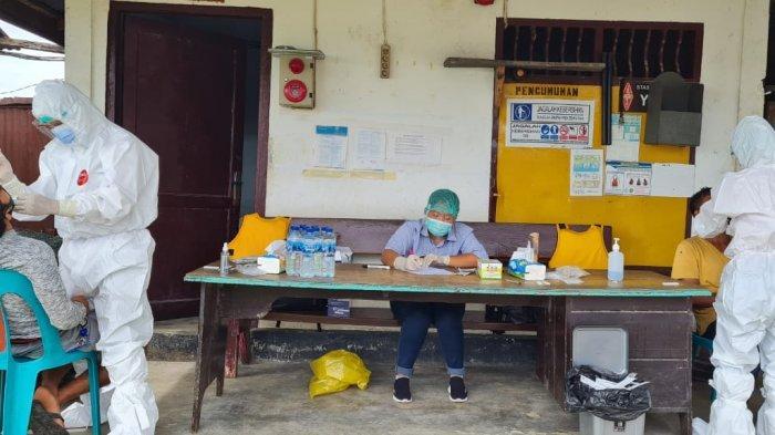 PT Aqua Farm Nusantara Gandeng Dua Puskesmas Gelar Tes Antigen