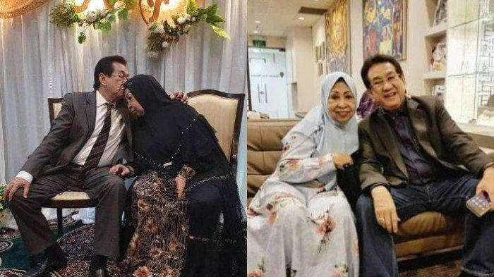 Anwar Fuady sempat merayakan ulang tahun ke 50 pernikahannya dengan Farida Fuady