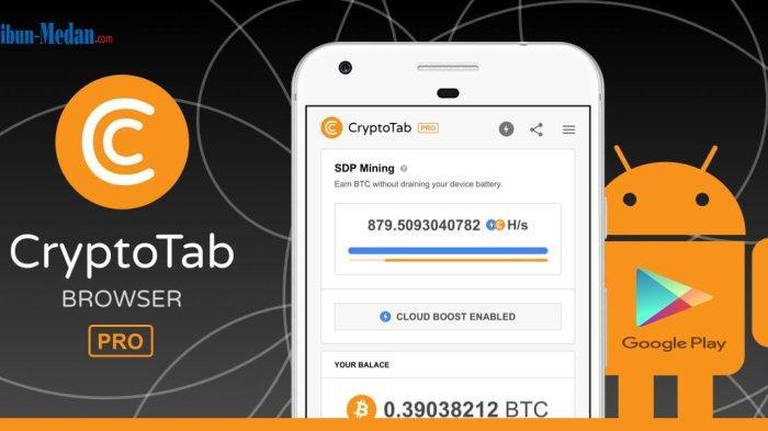 4 Aplikasi Penghasil Uang Tahun 2021 dari CryptoTab Family, Download di Google Play Store