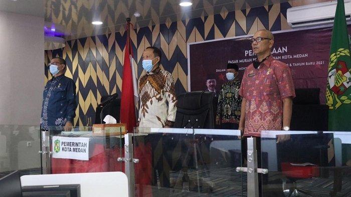 Sambut Natal dan Tahun Baru 2021, Pemkot Medan Gelar Pasar Murah di 53 Titik
