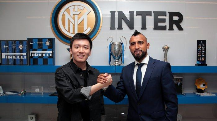 Arturo Vidal resmi bergabung dengan Inter Milan