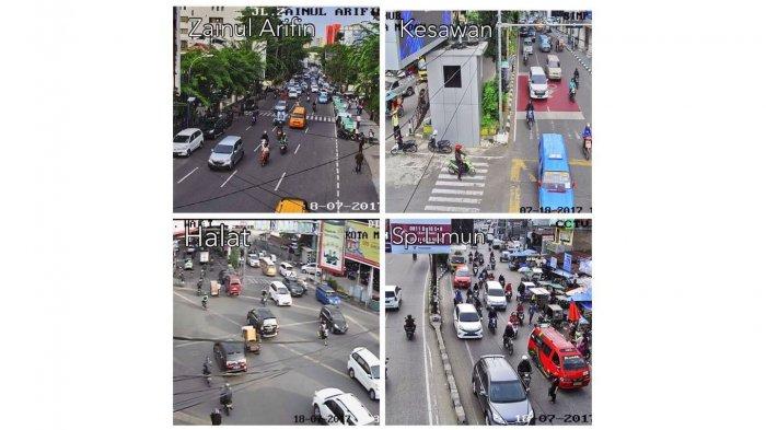 Jalan Halat dan Simpang Limun Ramai Lancar
