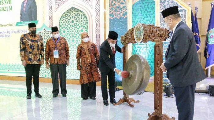 Hadiri Pembukaan STQH Ke XVII, Bobby Nasution Optimis Kota Medan Kembali Jadi Juara Umum