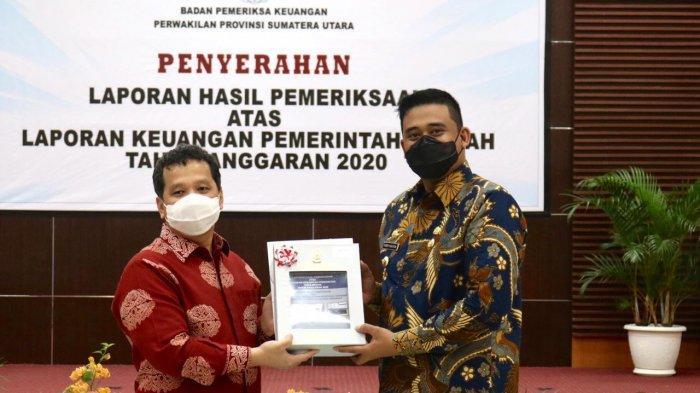 Akhirnya, Pemko Medan Raih Opini WTP dari BPK