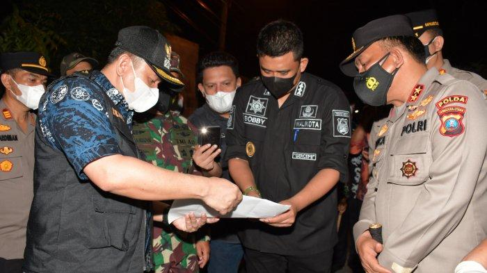 Bobby Nasution Bersama Pangdam I/BB dan Kapoldasu Tinjau Lokasi Isolasi di Medan Selayang