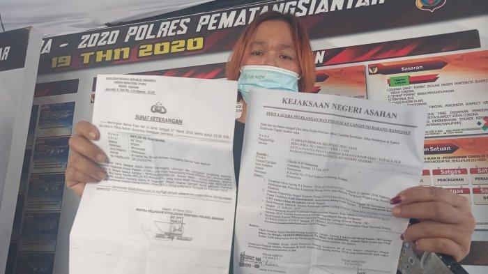 Asrini Silalahi Laporkan Seorang Istri Jaksa yang Menjual Mobil CRV Bodong