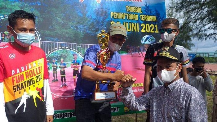 Klub Sepatu Roda Medan Juara Umum Kelompok Speed di Pariaman Fun Roller Skating Tour Race 2021
