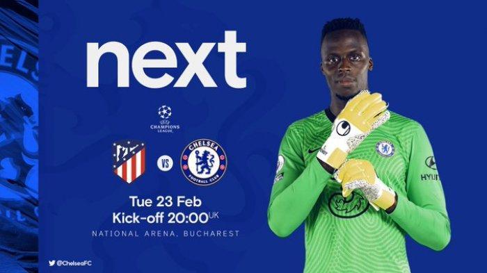 Atletico Madrid Vs Chelsea Live SCTV Malam Ini, Siasat Thomas Tuchel Cari Fomula di Lini Pertahanan