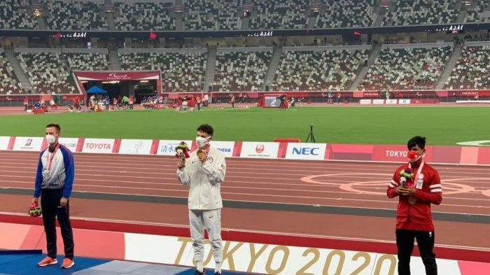 Indonesia Tambah Medali  di Paralimpiade Tokyo 2020, Saptayogo Purnomo Raih Perunggu di Kelas T37