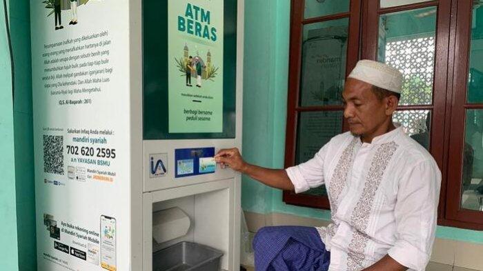 ATM Beras untuk Warga Fakir, Potensi Penghimpunan Dana ZISWAF Capai Rp 300 Triliun