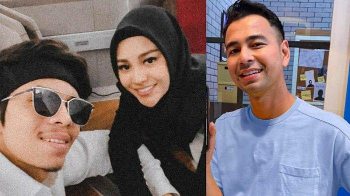 Kolase foto Atta Halilintar, Aurel Hermansyah, dan Raffi Ahmad. Aurel melarang Atta sering bertemu Raffi