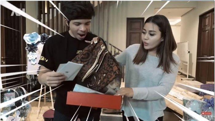 Aurel dan Atta Halilintar Terpukau Lihat Hadiah Pernikahan dari Presiden Joko Widodo